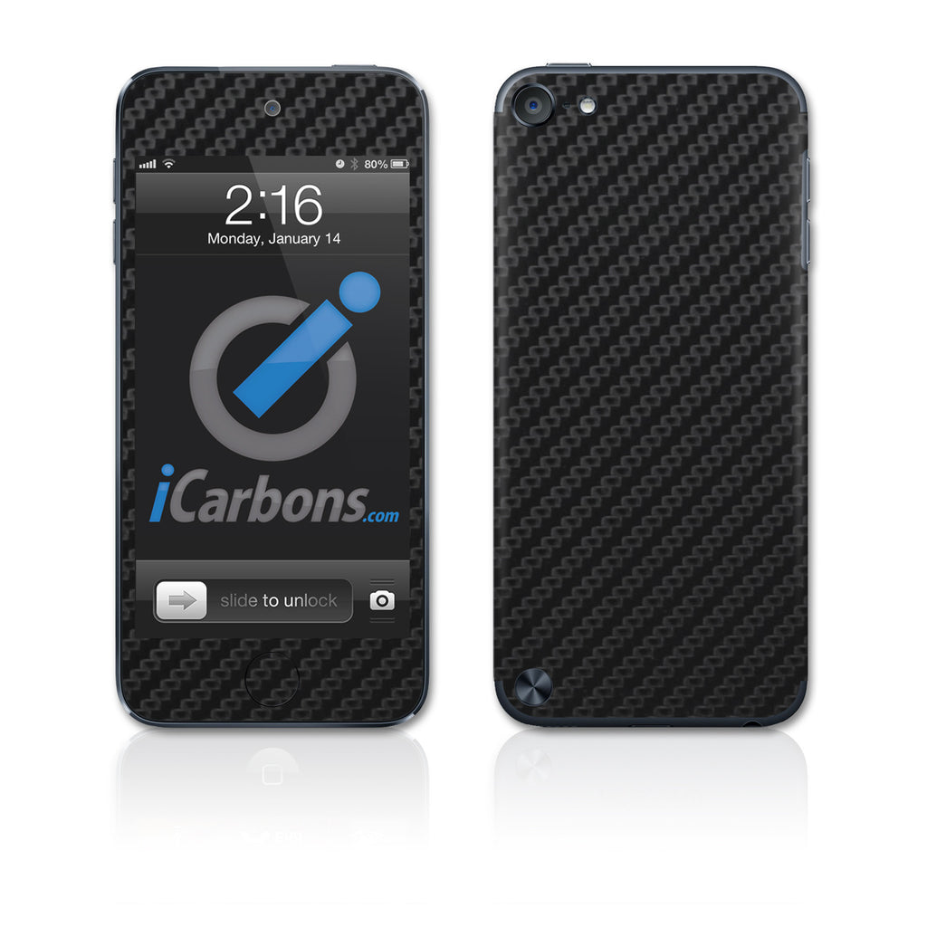 iPod Touch 5th Gen Skins - Carbon Fiber - iCarbons - 1