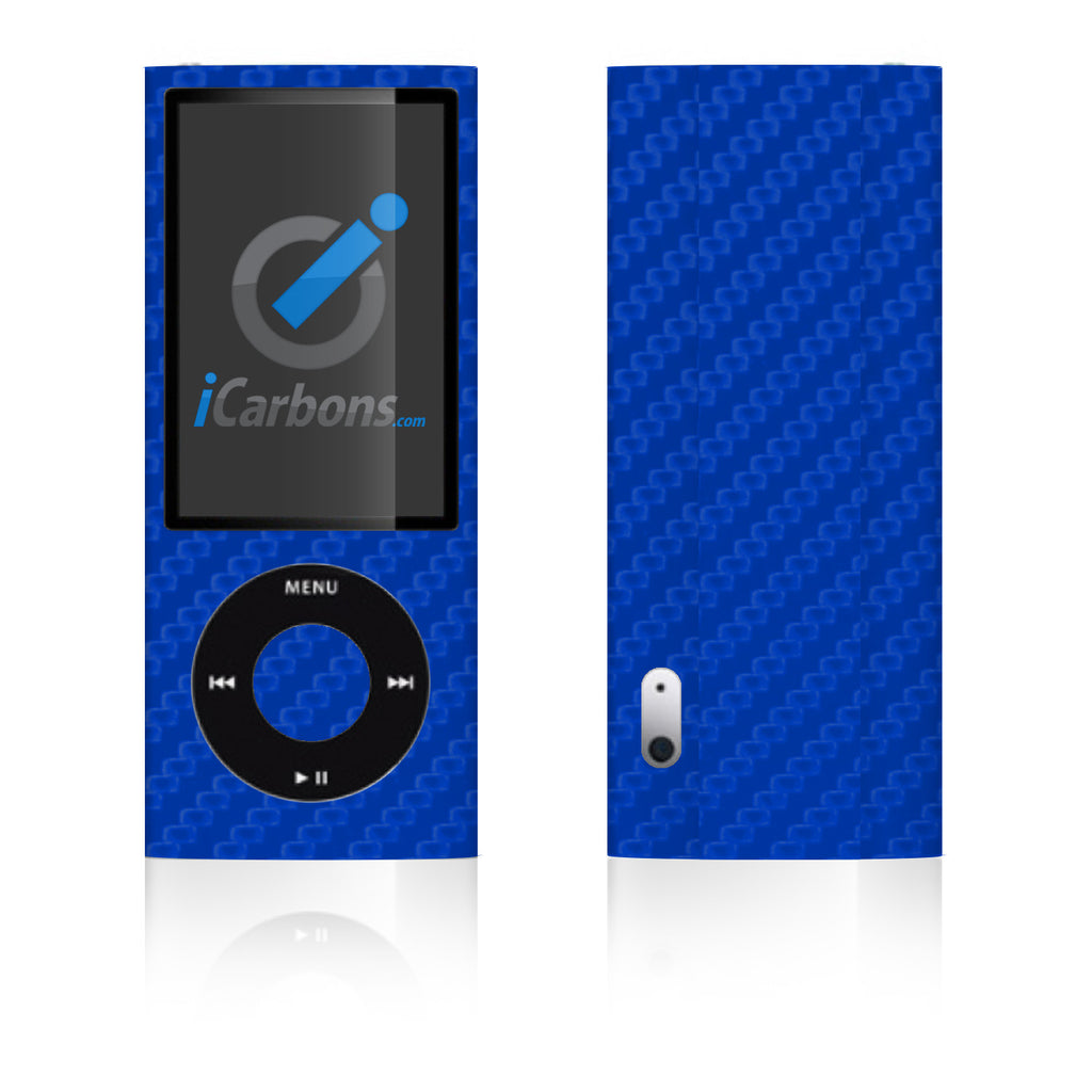 iPod Nano 5th Gen - Blue Carbon Fiber - iCarbons
