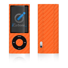 iPod Nano 5th Gen - Orange Carbon Fiber