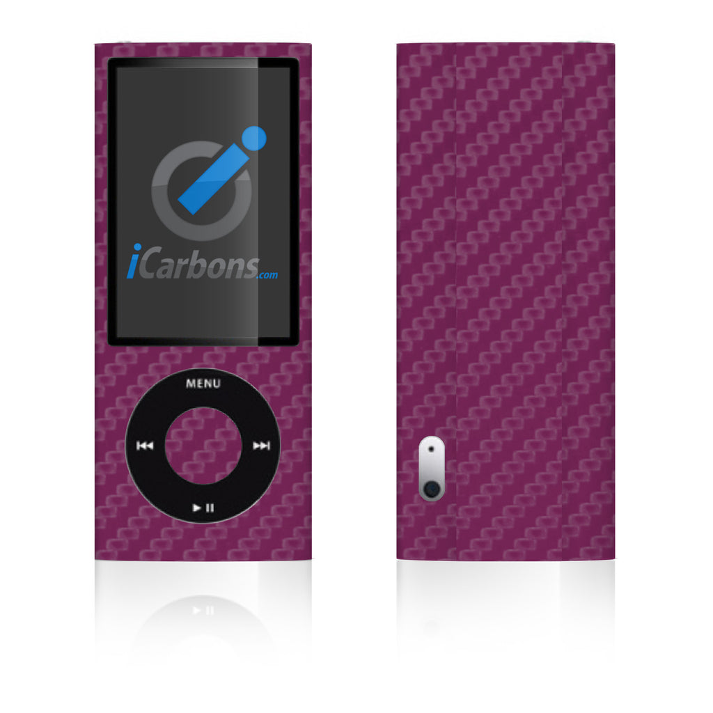 iPod Nano 5th Gen - Purple Carbon Fiber - iCarbons