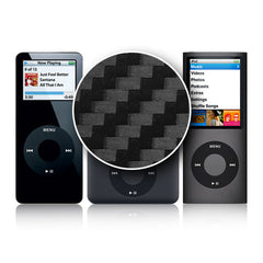 iPod Nano 1st - 4th Gen - Black Carbon Fiber