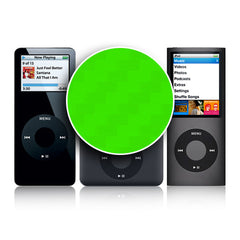 iPod Nano 1st - 4th Gen - Green Carbon Fiber