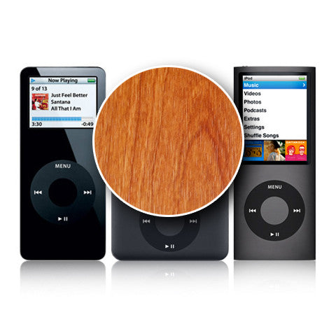 iPod Nano 1st - 4th Gen - Light Wood - iCarbons - 1