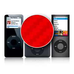 iPod Nano 1st - 4th Gen - Red Carbon Fiber