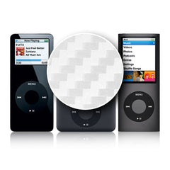 iPod Nano 1st - 4th Gen - White Carbon Fiber