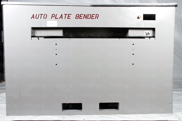 Product photo Plate Bender Auto Plate Bender, Auto Plate Bender