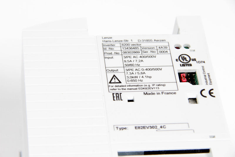 Product photo E82EV302K4C Frequency Converter 8200 Vector, Frequenzumrichter 8200 Vector