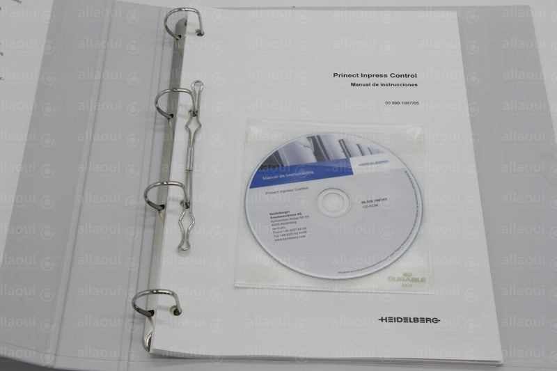 Product photo 00.999.1997/05 Documentation Inpresscontrol Spanish , Bedienungsanleitung Inpresscontrol Spanisch
