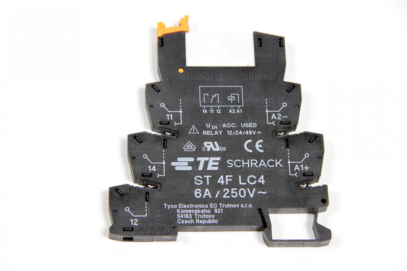 Product photo 3-1416100-7 TE Connectivity SNR Schnittstellen-Relaismodul, 24V dc 1-poliger Wechsler / 6 A