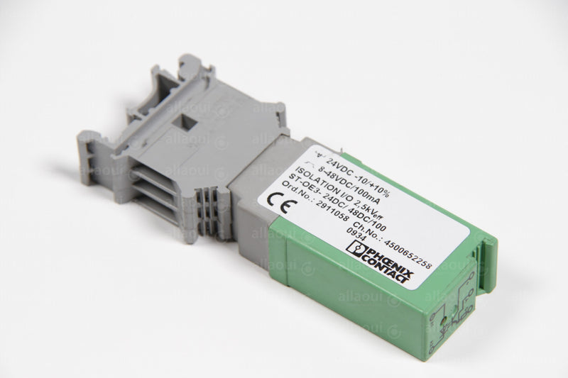 Product photo ST-OE3-24DC/48DC/100 Relay Phoenix Contact, Relais Phoenix Contact