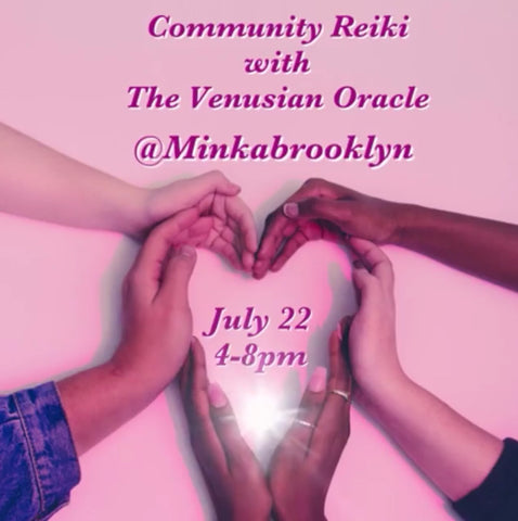 Community Reiki with The Venusian Oracle