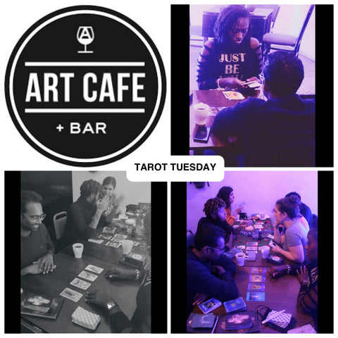 Tarot Tuesday at the Art Cafe - The Venusian Oracle