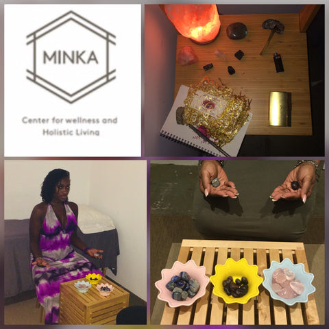 Crystal Energy Readings at Minka Brooklyn with The Venusian Oracle