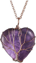 Load image into Gallery viewer, Tree of Life: Chakra Pendants