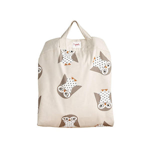 owl play mat bag