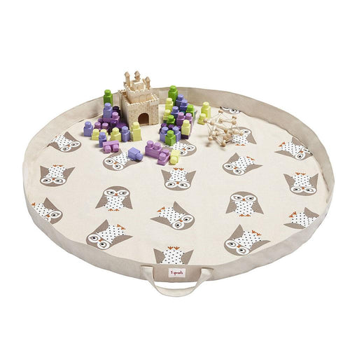 owl play mat bag - 3 Sprouts - 1