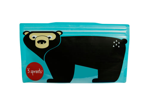 bear snack bag (2 pack)