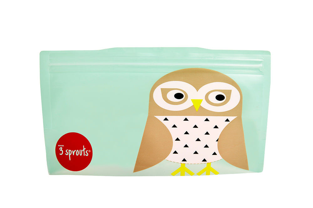 owl snack bag (2 pack)