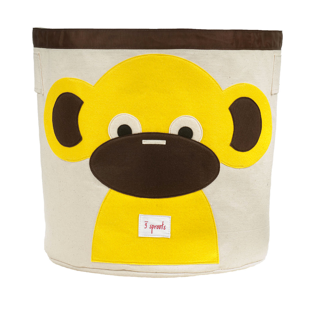 Storage Bin - Monkey Yellow