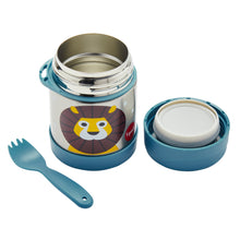 lion stainless steel food jar