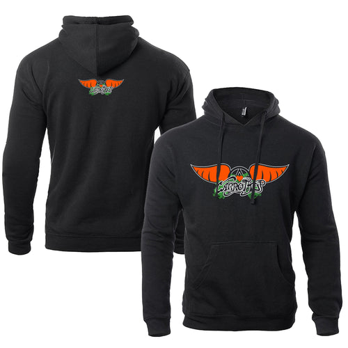 Carrot Top Carrot Wings Unisex Hoodie