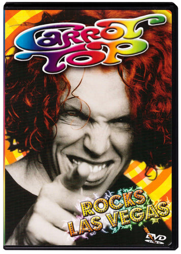 Carrot Top Rocks Las Vegas DVD