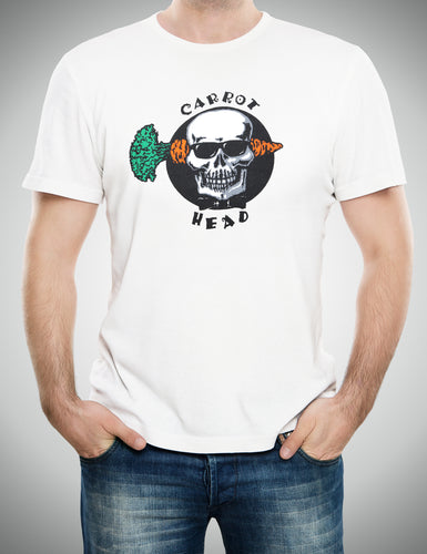 Carrot Top Men's Skull Carrot Head T-Shirt