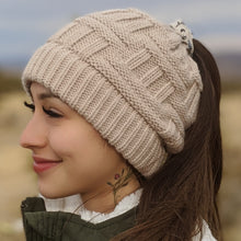 Load image into Gallery viewer, The Ponytail Beanie™
