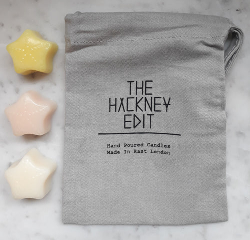 The Hackney Edit. Soy Wax, vegan, handmade, London, wax melts.