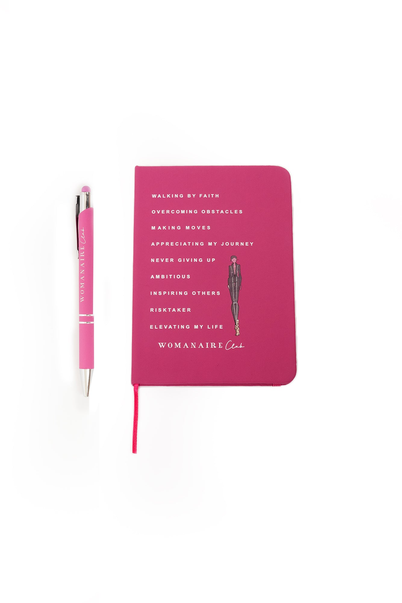Womanaire Notebook & Pen