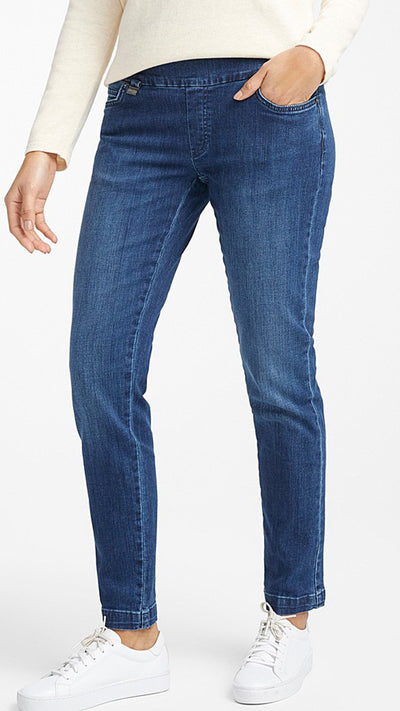 BETTY DENIM BLUE SLIM JEAN