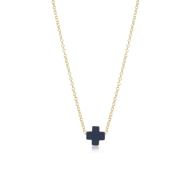 16'' SIGNATURE CROSS NECKLACE