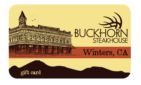 Buckhorn Steakhouse Gift Card