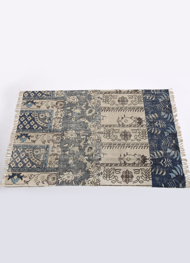 Bhuvi Cotton Printed Rug
