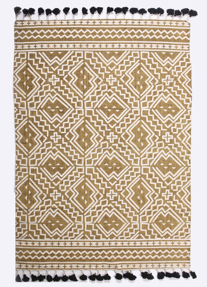 Dornie Cotton Printed Rug