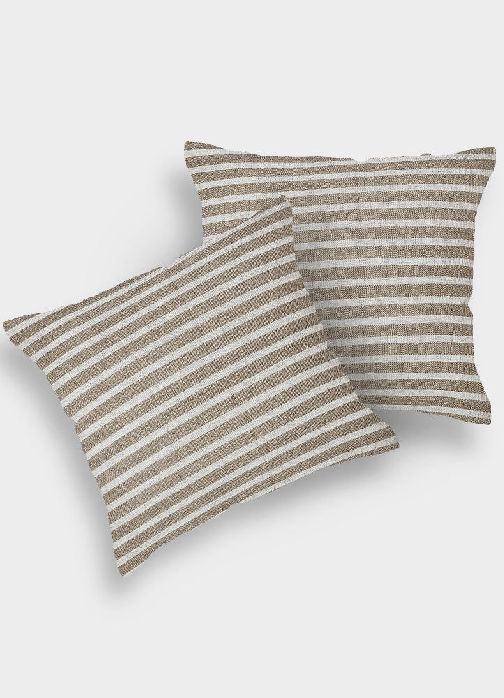 Blithe Linen Cushion Cover Set of 2 Pcs