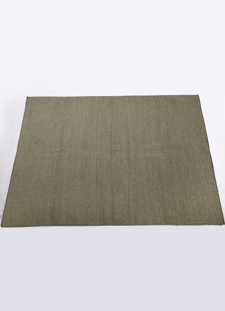 Ash Wool Solid Rug
