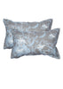 Princess Blue Jar Pillow Cover Set of 2 Pcs