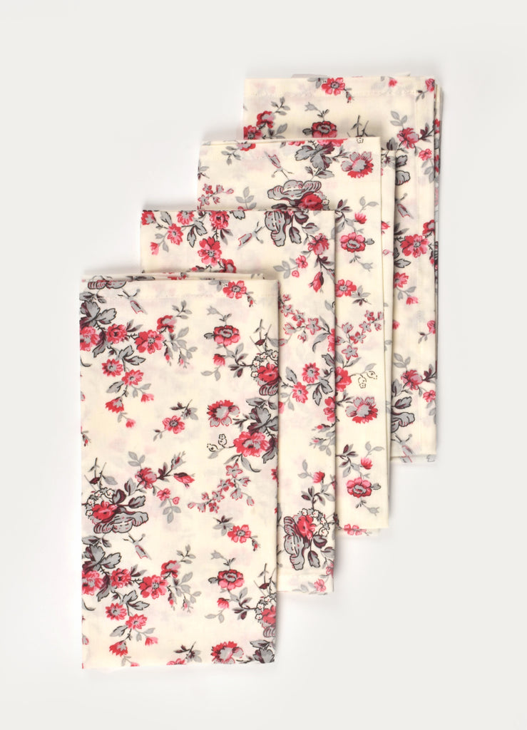 Rose Garden Napkin ( Set of 4 Pcs)