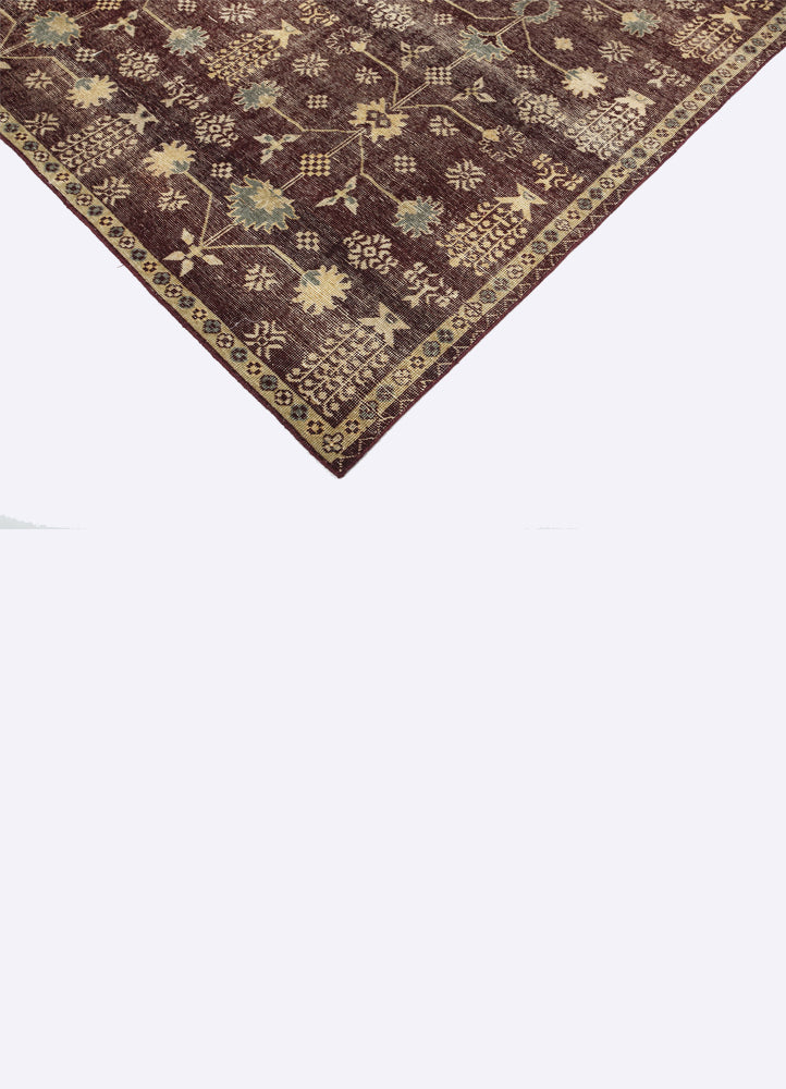 Flora Wool Hand Knotted Carpet