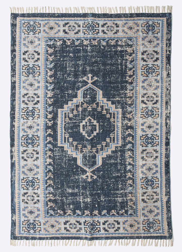 Jivi Cotton Printed Rug