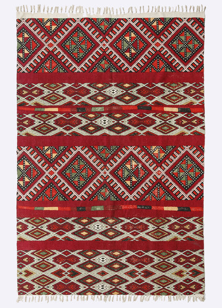 Avaha Cotton Printed  Rug
