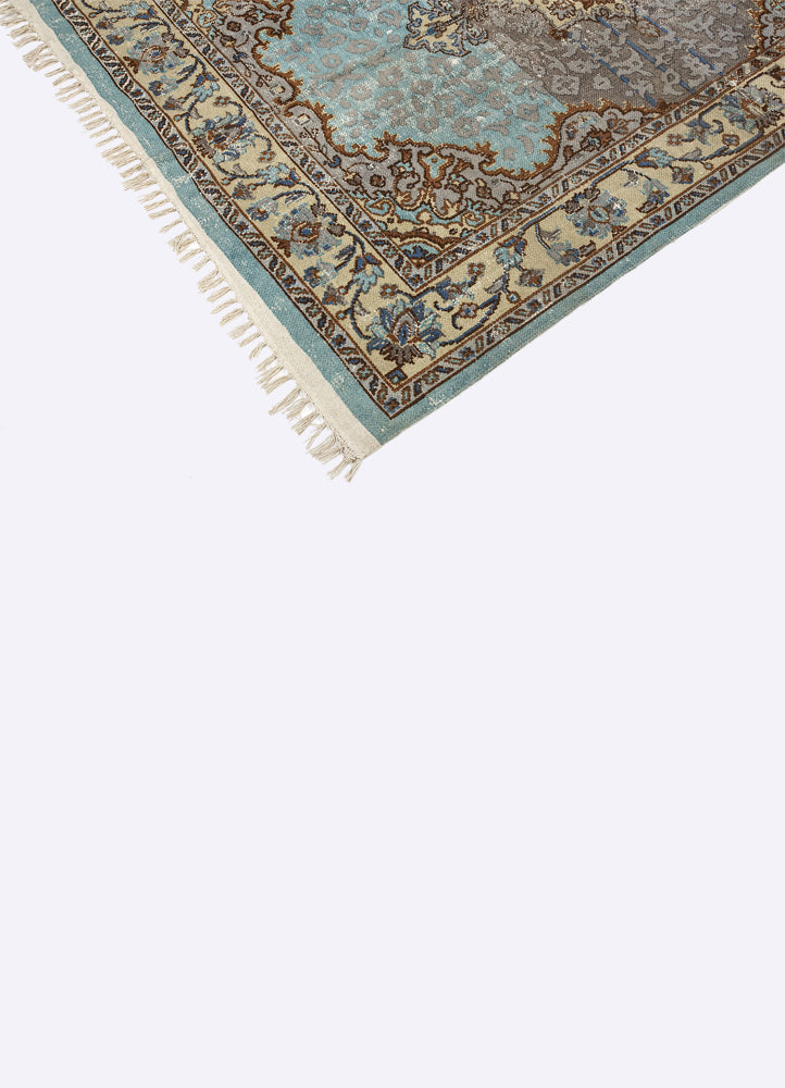Hali Cotton Printed Rug