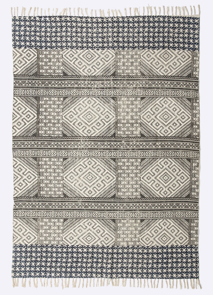 Niti Cotton Printed Rug
