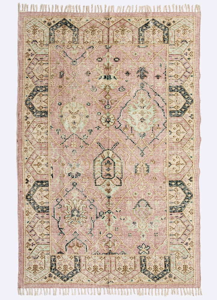 Munik Cotton Printed Rug