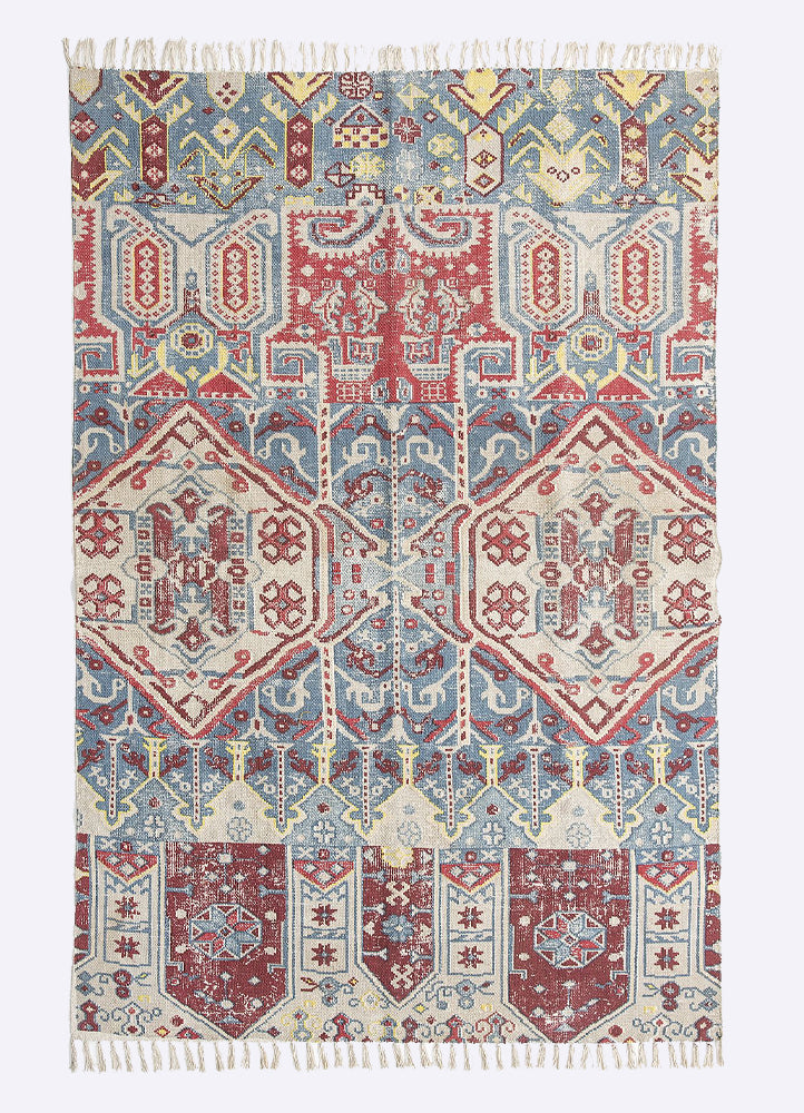 Gunji Cotton Printed Rug