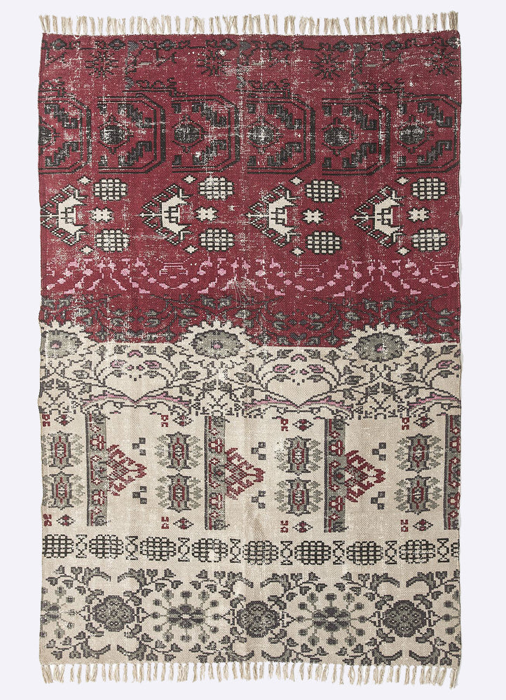 Zuri Cotton Printed Rug