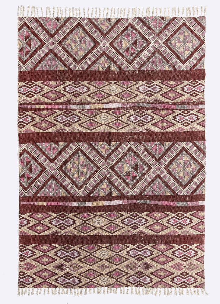 Gotti Cotton Printed Rug
