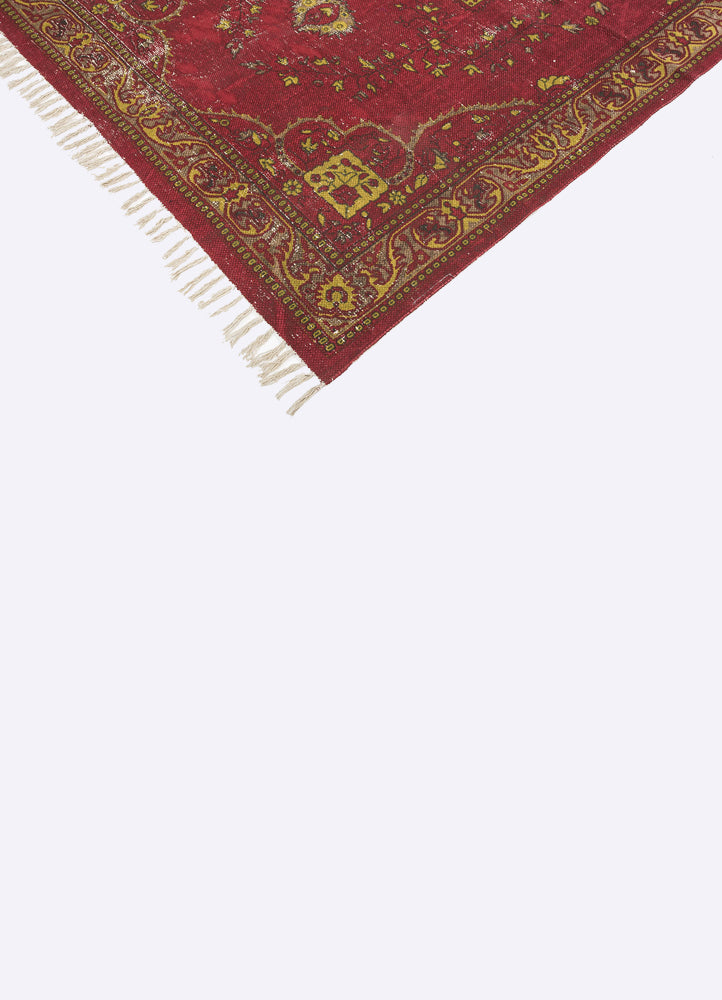 Pokhaira Cotton Printed Rug