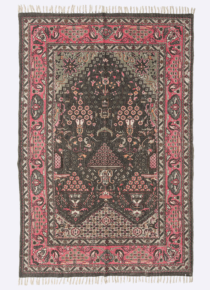 Lemie  Cotton Printed Rug